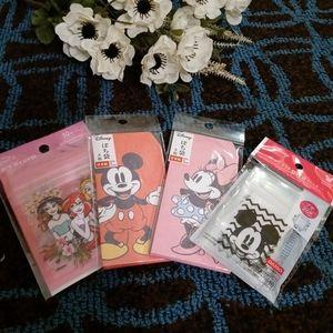NWT Disney ZipLock Bag and Envelope Bundle